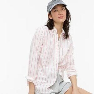 J. Crew Classic-fit Washed Cotton Poplin Shirt 12